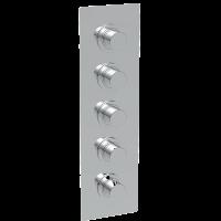Смеситель для душа La Torre Newtech 12950 Multi 4, 4 режима, термостат