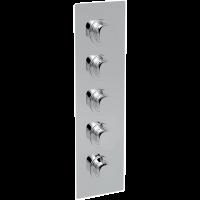 Смеситель для душа La Torre Laghi 44950 MULTI 4, 4 режима, термостат