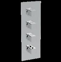 Смеситель для душа La Torre Profili 45950 MULTI 3, 3 режима, термостат