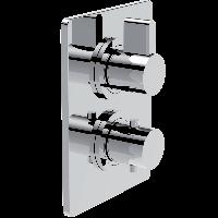 Смеситель для душа La Torre Wings AA950 R2, 2 режима, термостат