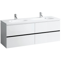 Шкафчик под умывальник Laufen Palomba 407454 159x50x57,5, белый