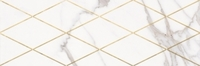 МИЛАНЕЗЕ ДИЗАЙН декор 20х60 римский каррара 1664-0141