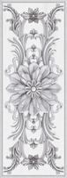 Декор Ivory серый