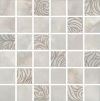 Декор Вирджилиано серый мозаичный