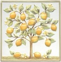 Декор Капри Лимонное дерево TLA001