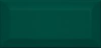 Плитка Клемансо зелёный грань