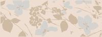 Декор Виланелла Цветы беж