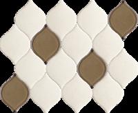 Mistysand Crema Mozaika Prasowana Arabeska Mix 20,2x26,5