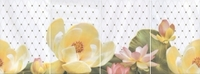 Панно Летний сад светлый, панно из 4 частей 20х30 (размер каждой части)