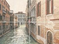 Панно Золотой пляж Venezia, панно из 8 частей 20х30 (размер каждой части)