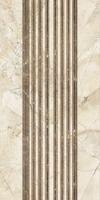 Вставка  Помпеи на белом коричневая ВС9ПМ034