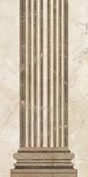 Вставка Помпеи на белом коричневая ВС9ПМ044