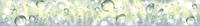 Бордюр Примавера на желтом голубая БД53ПА806