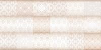 Плитка Фрейя на белом коричневая ПО9ФР004