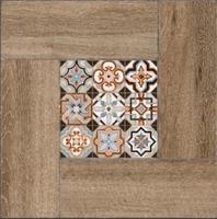 Плитка Ранчо на коричневом коричневый  ПГ3РЧ434