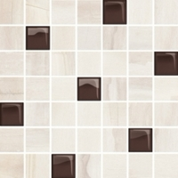 Декор Simple Stone Beige Glass Mosaic