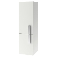 Шкаф-пенал Ravak SB 350 Chrome 35x37x120 R, белый/белый