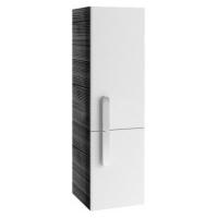 Шкаф-пенал Ravak SB 350 Chrome 35x37x120 L, оникс/белый