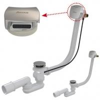 Сифон для ванны Ravak II X01440 с наполнением переливом, Click Clack