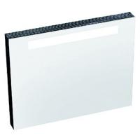 Зеркало Ravak Classic 80x55 с подсветкой и розеткой, белый