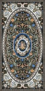 Фиори керамогранит декорированный обрезной 119,5х238,5