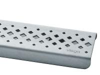 Дизайн-решетка Viega 571528 ER1, глянцевая, 75 см