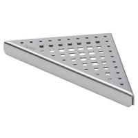 Дизайн-решетка угловая Viega 592394 EA1, матовая, 165x20 мм